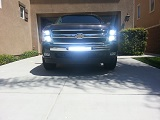 Silverado small hole lighting