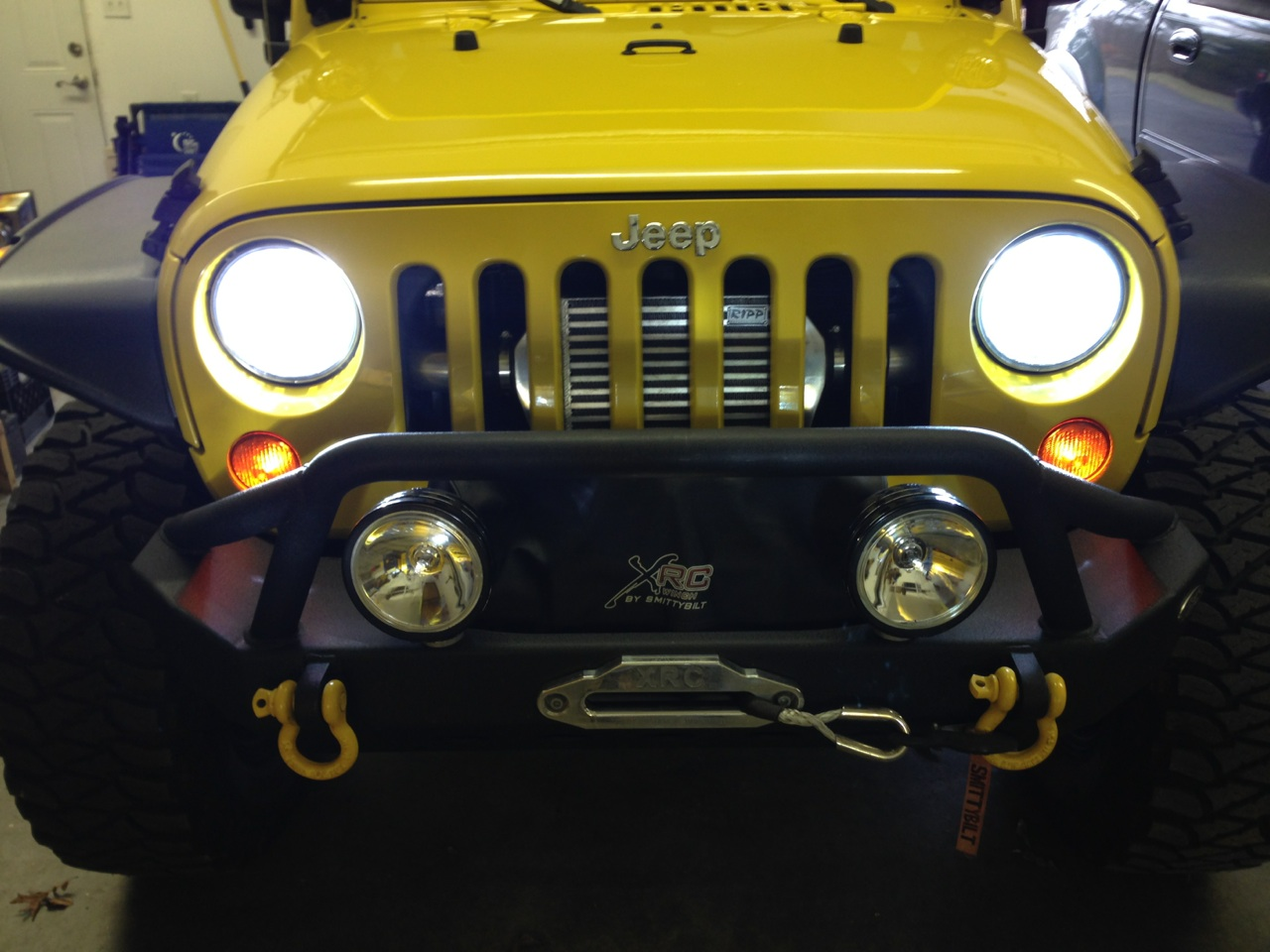 Jeep Wrangler Hid Headlights