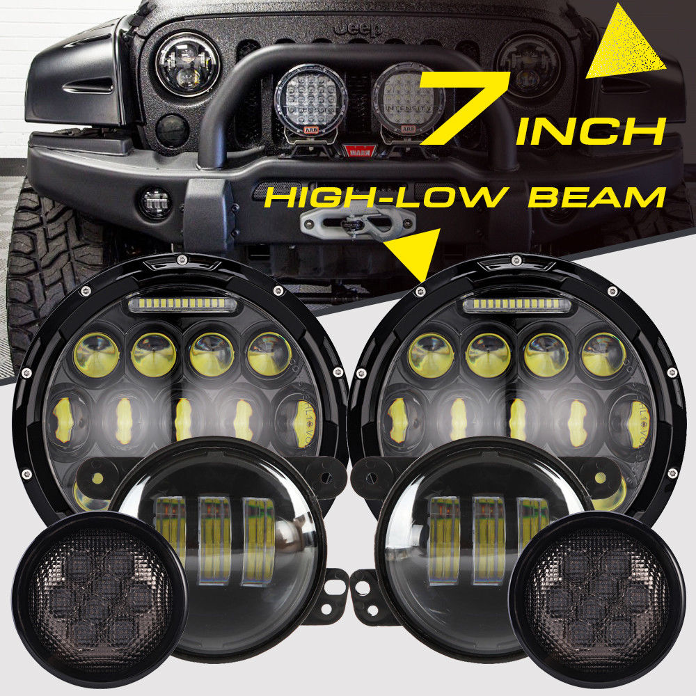 909 646 0982 Full Plug N Play Hid Kits Led Offroad Light Bars Jeep Wrangler Fog Lights Kit Headlamps Lamps And Turn Singals On Sale For 19999 We Offer The Jk